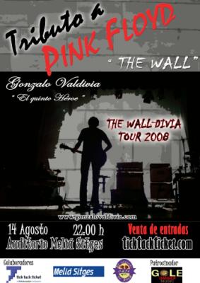 Cartel del concierto de Sitges